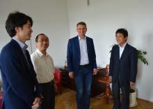 Goście z Japonii na UJK