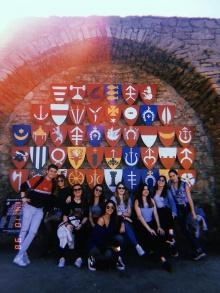 Wycieczka studentów zagranicznych