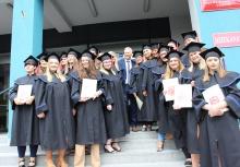 Uroczyste pożegnanie absolwentów Wydziału Lekarskiego i Nauk o Zdrowiu