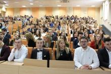 Inauguracja roku akademickiego 2019/20 na Wydziale Prawa, Administracji i Zarządzania.