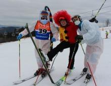 50 - zimie w Bukowinie - slalom pokoleń