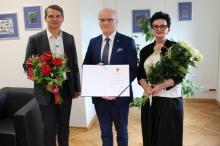Prof. Stanisław Głuszek odebrał akt wyboru rektora