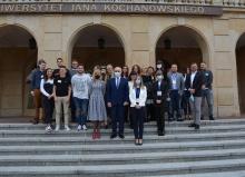 Powitanie Erasmusów