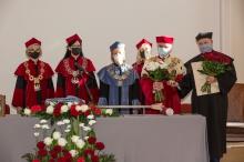 Uroczystość wręczenia tytułu doktora honorowego prof. Markowi Krawczykowi